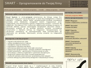 Smart System - program do obsługi magazynu